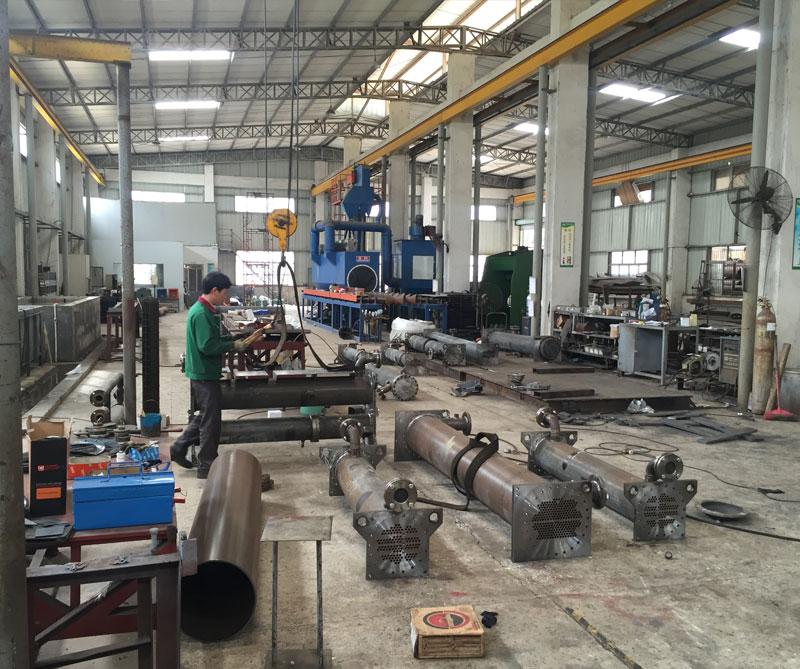 深圳贝博德甲,蒸发器及冷凝器生产车间